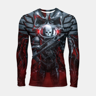 Thumbnail image of Honor Guard Longsleeve rashguard , Live Heroes