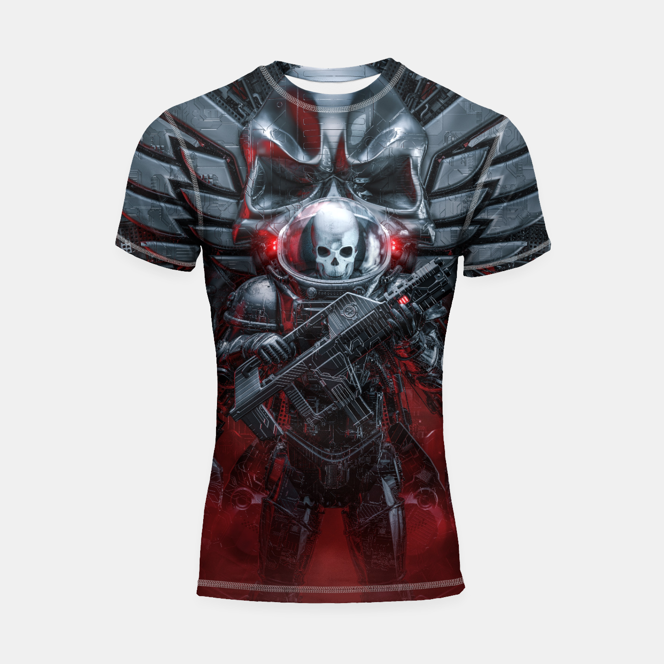 Image of Honor Guard Shortsleeve rashguard - Live Heroes