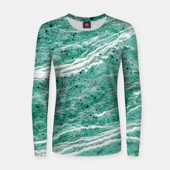 Thumbnail image of Green Salt Women sweater, Live Heroes