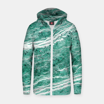 Thumbnail image of Green Salt Zip up hoodie, Live Heroes