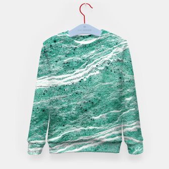 Thumbnail image of Green Salt Kid's sweater, Live Heroes
