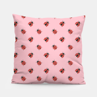 Thumbnail image of Ladybug Pattern Pillow, Live Heroes