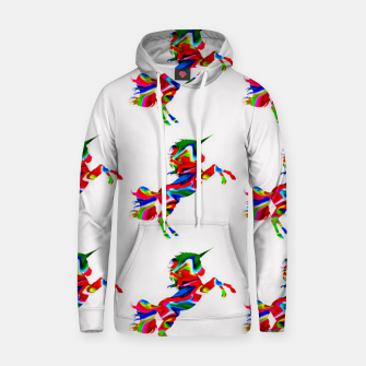 Thumbnail image of Watercolor unicorns-White Sudadera con capucha, Live Heroes