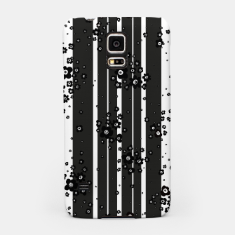 Thumbnail image of  Artistic, Black, Black and white, Cute, Daisy, Ditsy, Hand drawn, Lines, Simple, Spring/summer, Stylised floral, pattern Samsung Case, Live Heroes