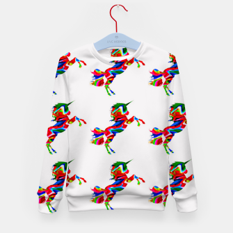 Thumbnail image of Watercolor unicorns-White Sudadera para niños, Live Heroes