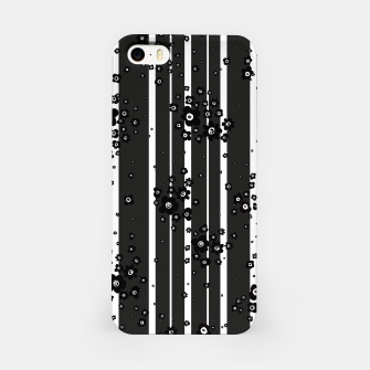 Thumbnail image of  Artistic, Black, Black and white, Cute, Daisy, Ditsy, Hand drawn, Lines, Simple, Spring/summer, Stylised floral, pattern iPhone Case, Live Heroes