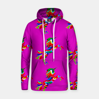 Thumbnail image of Watercolor unicorns-Purple Sudadera con capucha, Live Heroes