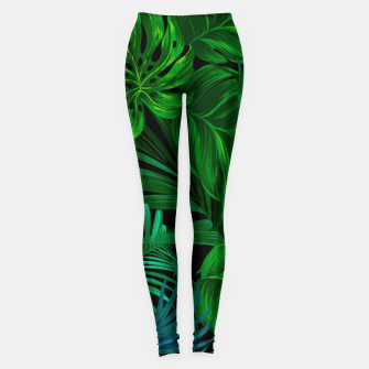 7ab173fdb6b8d Thumbnail image of Fancy Tropical Floral Pattern Leggings, Live Heroes