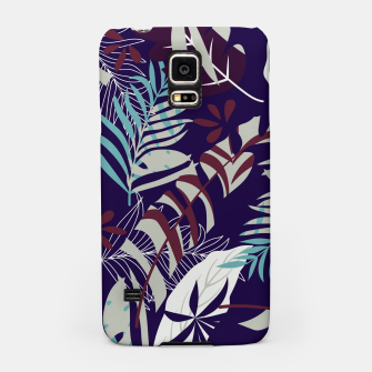 Thumbnail image of Fancy Tropical Floral Pattern Handyhülle für Samsung, Live Heroes