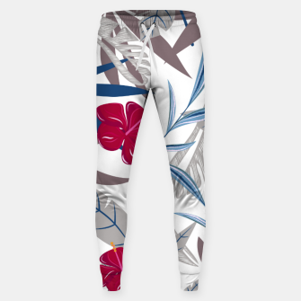 Thumbnail image of Fancy Tropical Floral Pattern Hosen, Live Heroes