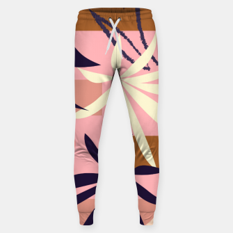 Fancy Tropical Floral Pattern Hosen thumbnail image