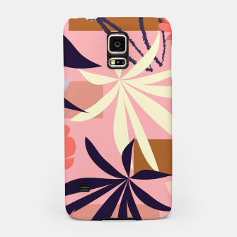 Fancy Tropical Floral Pattern Handyhülle für Samsung thumbnail image