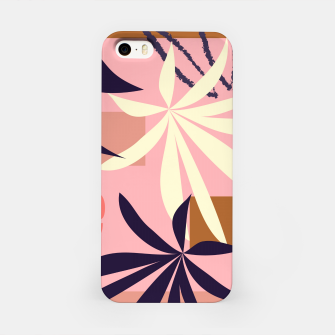 Fancy Tropical Floral Pattern iPhone-Hülle thumbnail image