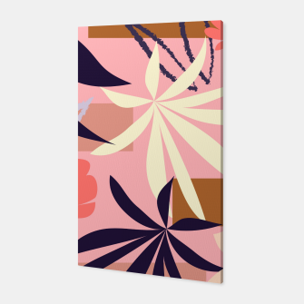 Thumbnail image of Fancy Tropical Floral Pattern Canvas, Live Heroes