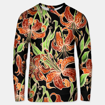 Thumbnail image of Fancy Tropical Floral Pattern Unisex sweatshirt, Live Heroes