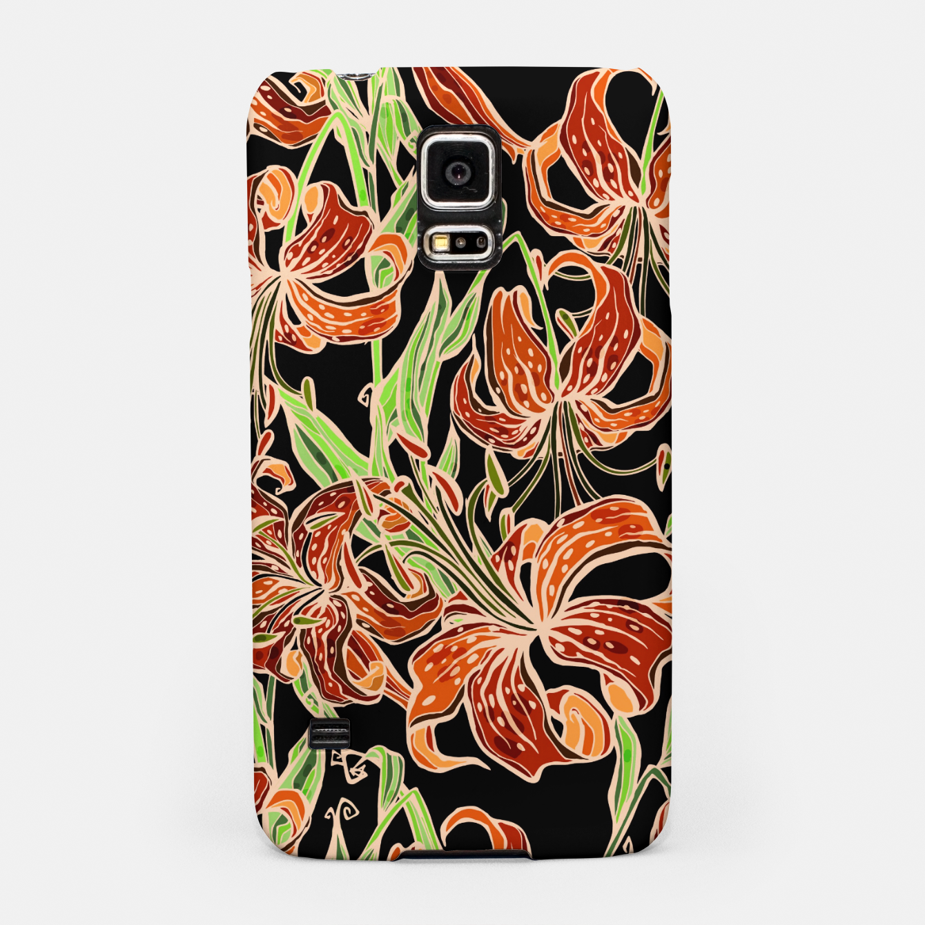 Image of Fancy Tropical Floral Pattern Handyhülle für Samsung - Live Heroes