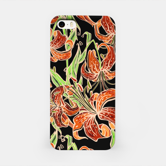 Thumbnail image of Fancy Tropical Floral Pattern iPhone-Hülle, Live Heroes