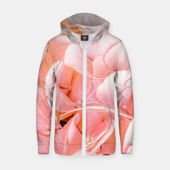 Blushing Zip up hoodie thumbnail image