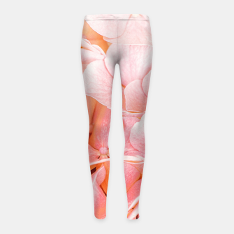 Miniaturka Blushing Girl's leggings, Live Heroes