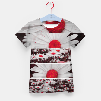 Thumbnail image of Collage Marguerites Enfantin t-shirt, Live Heroes