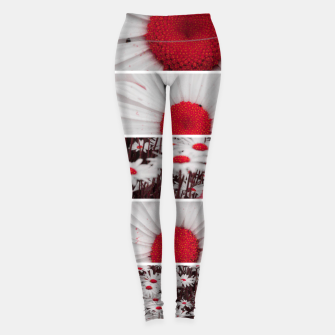 Thumbnail image of Collage Marguerites Leggings, Live Heroes