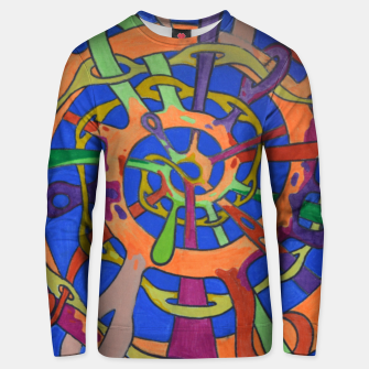 Thumbnail image of M spiral Unisex sweater, Live Heroes