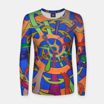 Thumbnail image of M spiral Women sweater, Live Heroes
