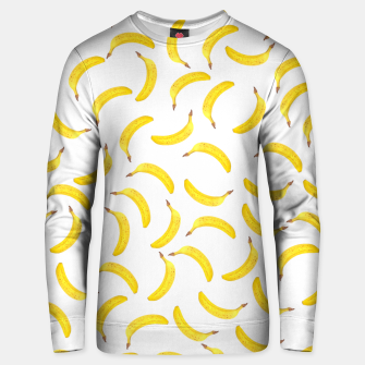 Thumbnail image of Pattern Bananes Unisex pull, Live Heroes