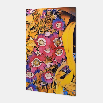 violet flowers Canvas thumbnail image