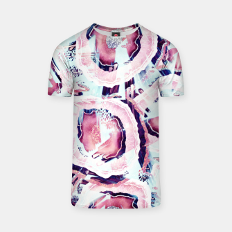 Thumbnail image of Pink and turquoise T-shirt, Live Heroes