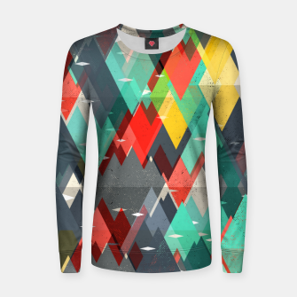 Thumbnail image of Pattern of nature Women sweater, Live Heroes
