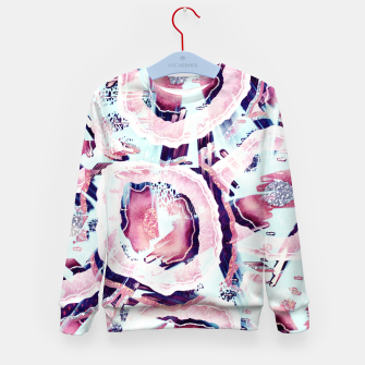 Pink and turquoise Kid's sweater thumbnail image