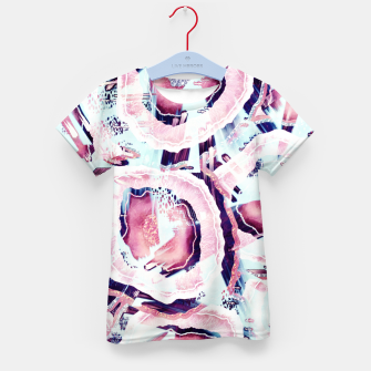 Pink and turquoise Kid's t-shirt thumbnail image