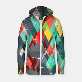 Thumbnail image of Pattern of nature Zip up hoodie, Live Heroes
