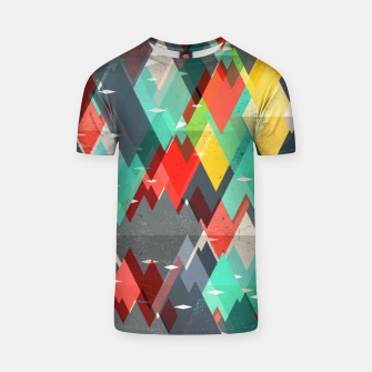 Thumbnail image of Pattern of nature T-shirt, Live Heroes