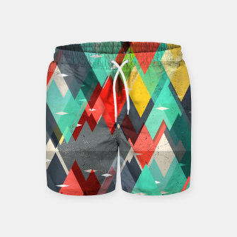 Thumbnail image of Pattern of nature Swim Shorts, Live Heroes