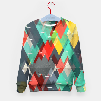 Thumbnail image of Pattern of nature Kid's sweater, Live Heroes