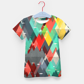 Thumbnail image of Pattern of nature Kid's t-shirt, Live Heroes