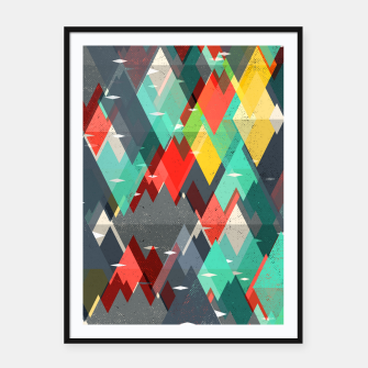 Thumbnail image of Pattern of nature Framed poster, Live Heroes