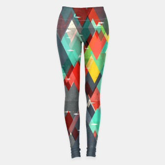 Thumbnail image of Pattern of nature Leggings, Live Heroes