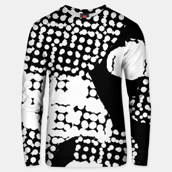Thumbnail image of Pattern Abstrait Formes Noir/Blanc Unisex pull, Live Heroes