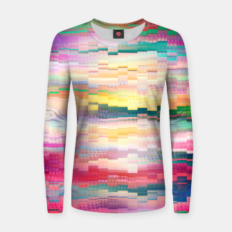 Vivid Pattern Women sweater obraz miniatury