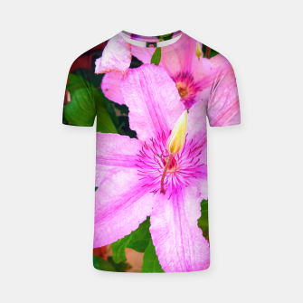 Thumbnail image of clematis 1 std T-shirt, Live Heroes
