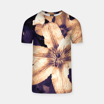 Thumbnail image of clematis 1 ls T-shirt, Live Heroes