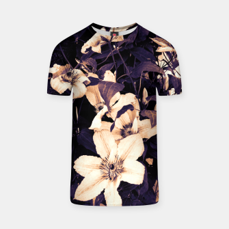 Thumbnail image of clematis 2 ls T-shirt, Live Heroes