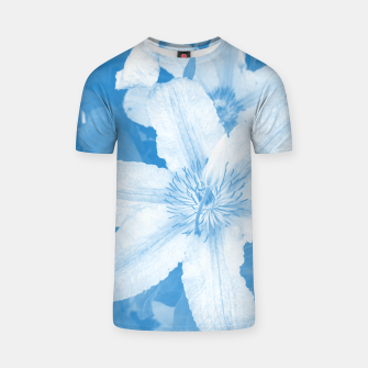 Thumbnail image of clematis 1 wb T-shirt, Live Heroes