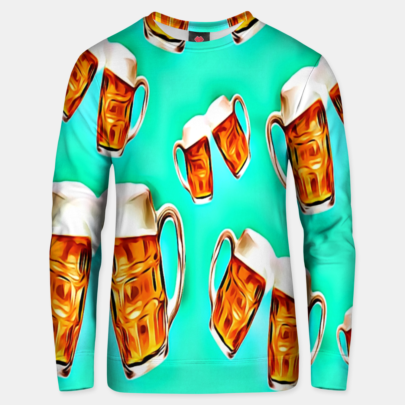 Image of Beers forever-Blue Sudadera unisex - Live Heroes