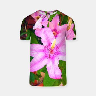 Thumbnail image of clematis 1 orig T-shirt, Live Heroes