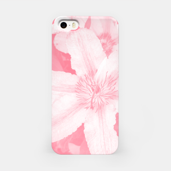 clematis 1 pw iPhone Case thumbnail image