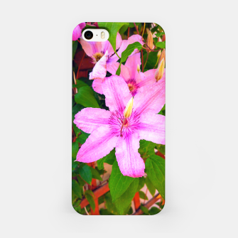 clematis 1 orig iPhone Case thumbnail image